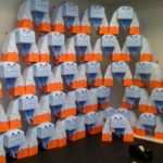 News from the Studio: Hardworking Staff Makes Nearly 1,000 Papertoy Monsters!