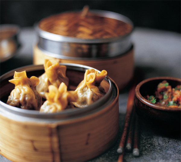 Steamed Tibetan Momos (from Beyond the Great Wall)