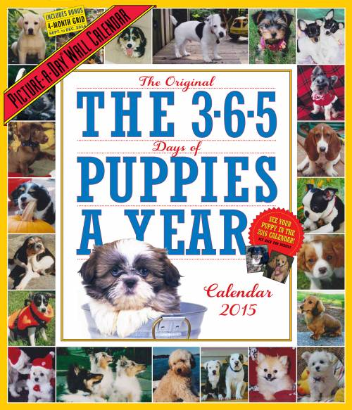 365 Puppies a Year Page-A-Day Calendar