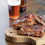 Barbecued Ribs with Molasses Mustard