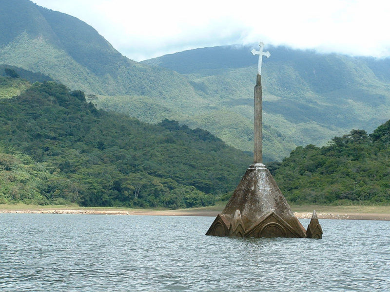 drowned-church