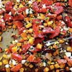 Roasted Beet & Orange Salad with Pistachios and Feta