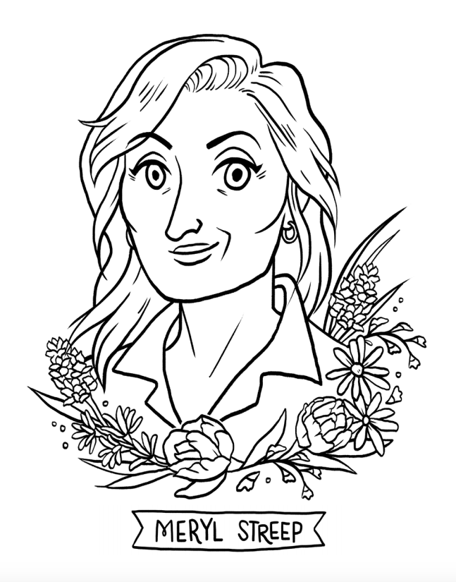 pages of the academy award coloring pages