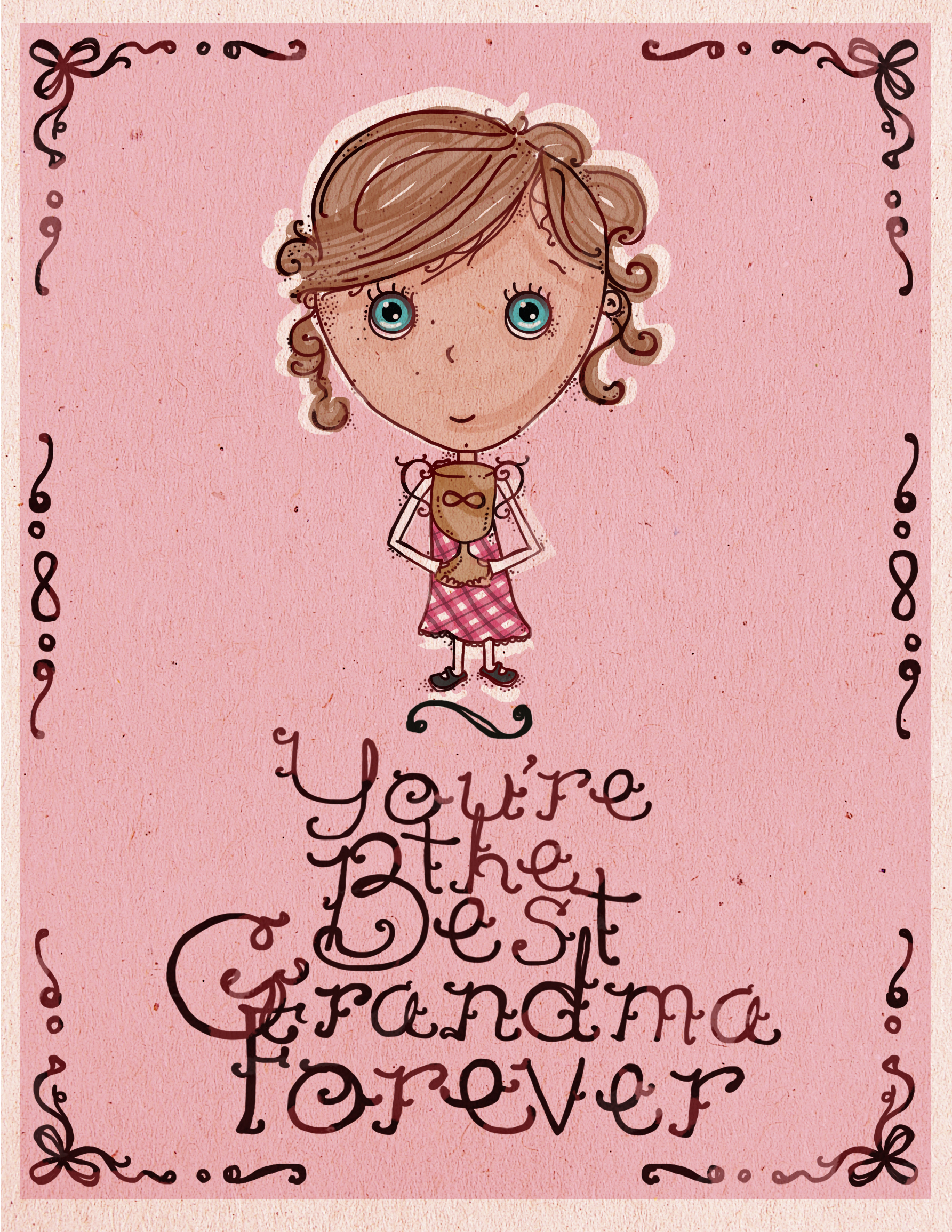 picture regarding Printable Grandparents Day Card named Printable Grandparents Working day Playing cards