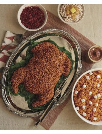 Crispy Rice Thanksgiving Turkey