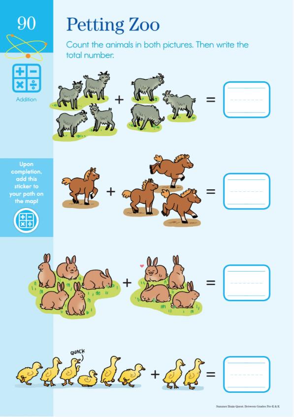 petting zoo math