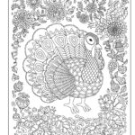 Color Your Turkey from <em>Color Your Year</em>
