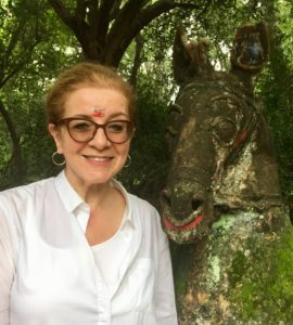 Patricia Schultz in Kerala, India