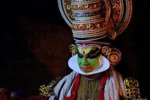 Man in decorative Indian costume