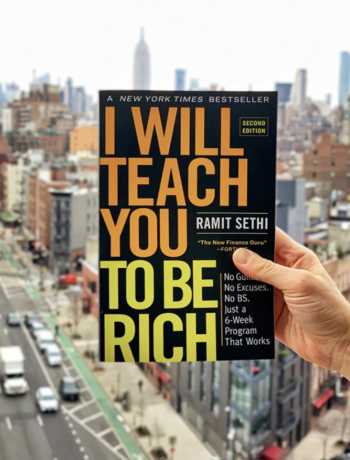 I Will Teach You to Be Rich Cover and Cityscape