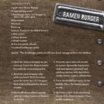 Creative Ramen Noodle Recipes: Ramen Burger