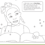 The ABCs of Black History Coloring Pages