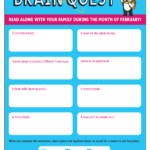 Join the Brain Quest Read Along!
